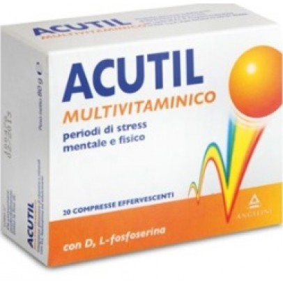 ACUTIL MULTIVIT 20CPR EFFERV