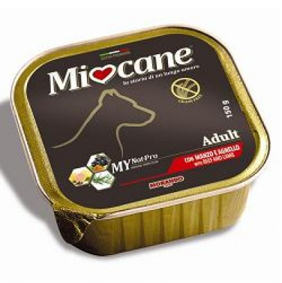 MIOCANE ADULT MANZ/AGNEL 150G